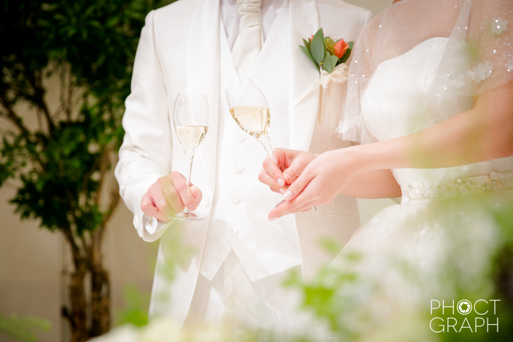 メゾンエルミタージュ・後半【MINT】結婚式写真撮影レポート