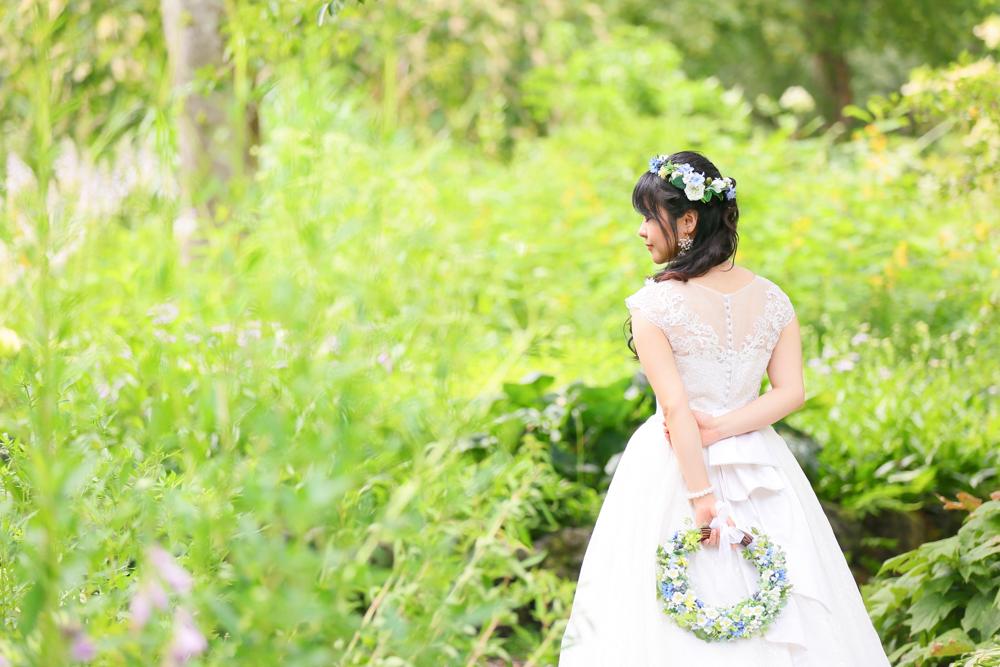 軽井沢で前撮り写真撮影【mint】外注・持ち込み結婚式カメラマン