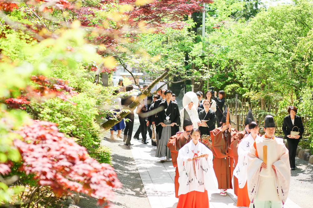 小田原・報徳二宮神社で結婚式写真撮影【mint】持ち込みカメラマン・外注