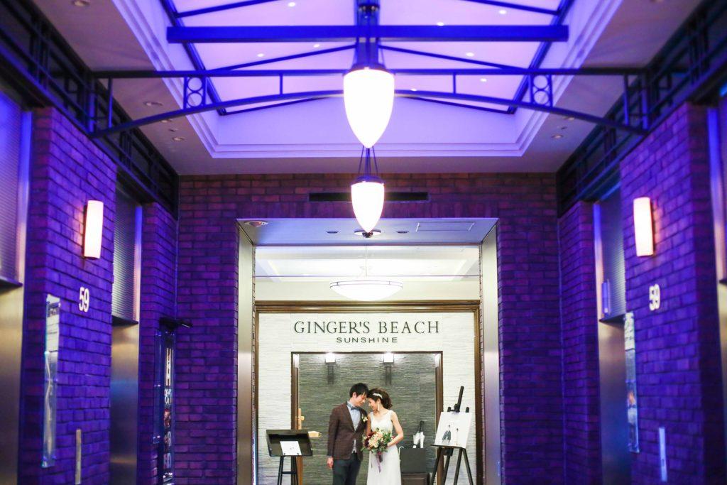 ジンジャーズビーチ・二次会【mint】結婚式持ち込みカメラマン・外注写真撮影
